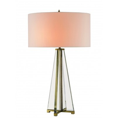 Currey & Company Lamont Glass Table Lamp  by Currey & Company