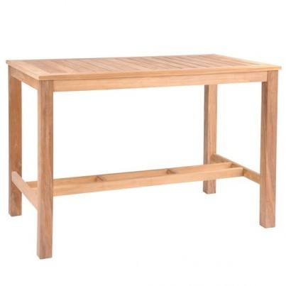 Kingsley Bate Wainscott Teak Bar Table  by Kingsley Bate