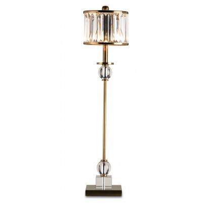 Currey & Company Parfait Brass Table Lamp  by Currey & Company