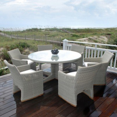 Kingsley Bate Westport Wicker Dining Collection - Build Your Own Ensemble  by Kingsley Bate