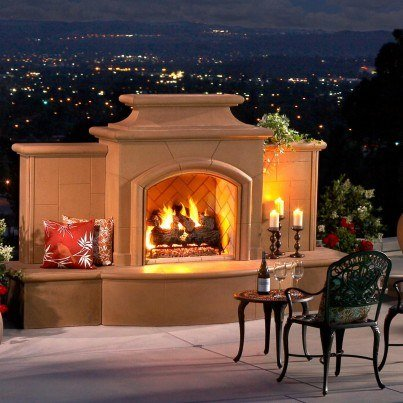 Grand Mariposa Fireplace  by CGProducts