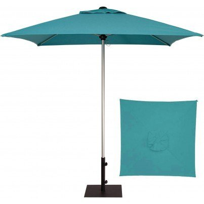Treaure Garden 7' Commercial Square Center Post Umbrellaco  by Treasure Garden