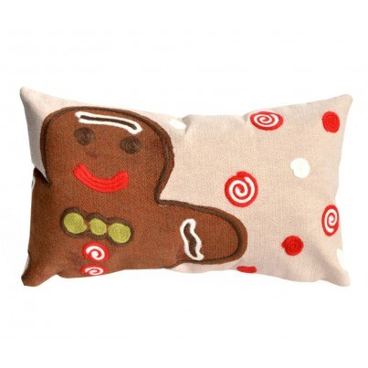 Trans-Ocean Visions lll Ginger Boy Chocolate Rectangular Pillow  by TransOcean