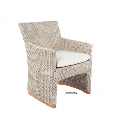 Kingsley Bate Westport Dining Armchair Seat Cushion  by Kingsley Bate