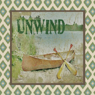 West of the Wind Outdoor Canvas Wall Art - Unwind  by West of the Wind