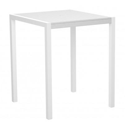 Satin White Frame w/ White Surface