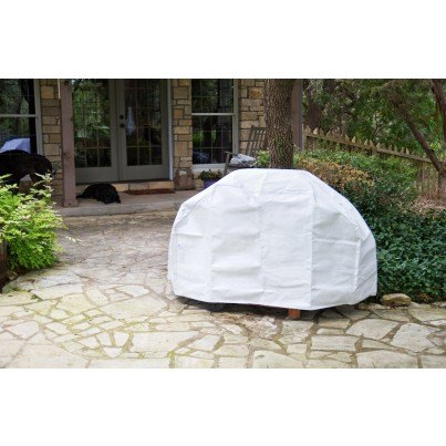 Protective SupraRoos™ Large Barbecue Cover - White  by Koveroos