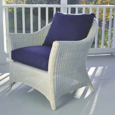 Kingsley Bate Cape Cod Wicker Deep Seating Lounge Chair  by Kingsley Bate