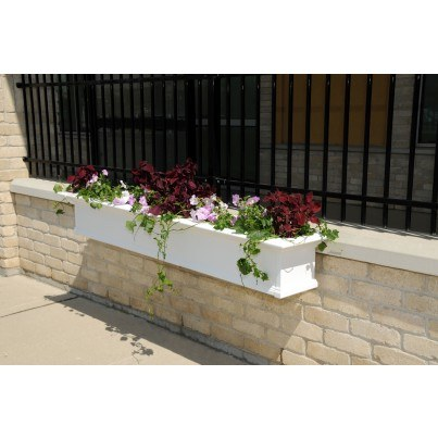 Mayne Yorkshire 8' Window Box - White -
