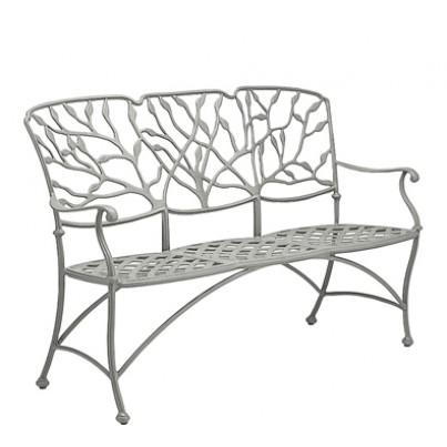 Woodard Heritage Aluminum Three - Seat Bench  by Woodard