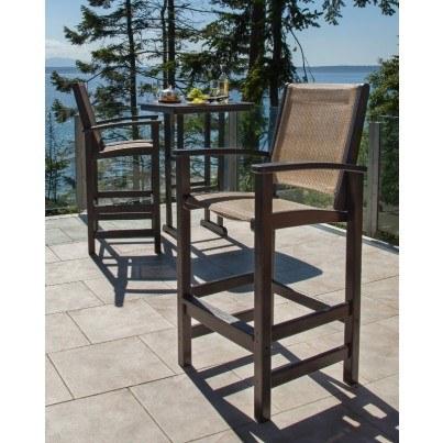 POLYWOOD® Coastal Bar Chair  by Polywood