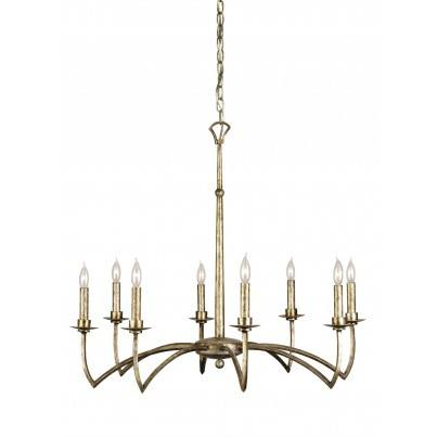 Currey & Company Mainstay Iron Chandelier  by Currey & Company