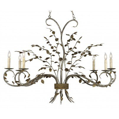 Currey & Company Raintree Iron Chandelier  by Currey & Company