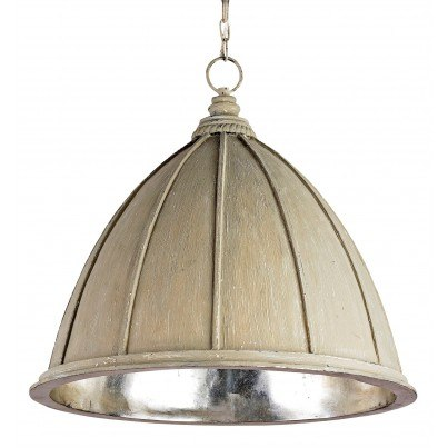 Currey & Company Fenchurch Wrought Iron Pendant Light  by Currey & Company