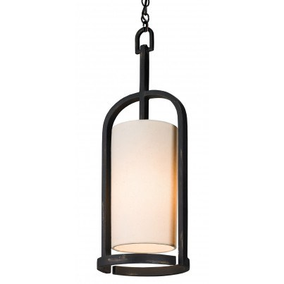 Currey & Company Colwyn Wrought Iron Pendant  by Currey & Company
