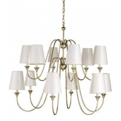 Currey & Company Orion Wrought Iron Chandelier  by Currey & Company