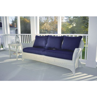 Kingsley Bate Cape Cod Wicker Deep Seating Sofa  by Kingsley Bate