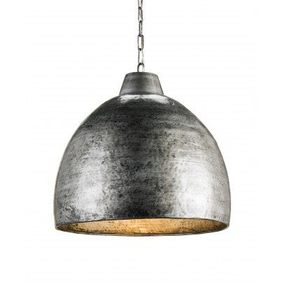 Currey & Company Earthshine Metal Pendant  by Currey & Company