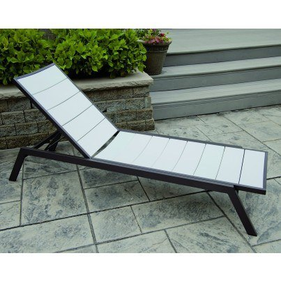 POLYWOOD® Metro™ Chaise Lounge  by Polywood