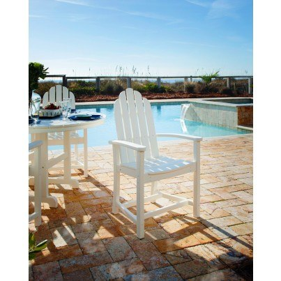POLYWOOD® Classic Adirondack Dining Chair  by Polywood