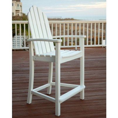 POLYWOOD® Classic Adirondack Counter Chair  by Polywood