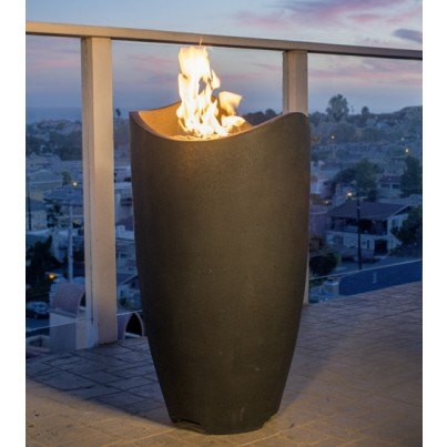 Wave Fire Urn  by CGProducts