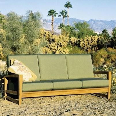 Kingsley Bate Amalfi Teak Deep Seating Sofa  by Kingsley Bate