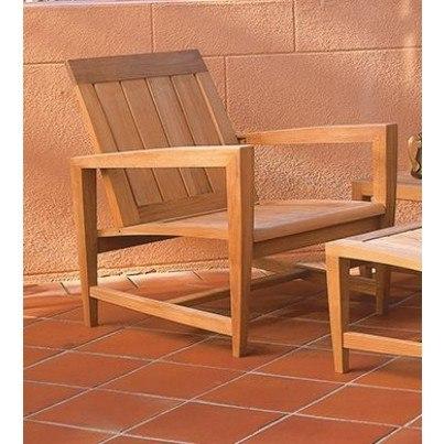 Kingsley Bate Amalfi Teak Club Chair  by Kingsley Bate