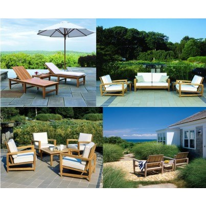 Kingsley Bate Amalfi Teak Deep Seating Collection - Build Your Own Ensemble  by Kingsley Bate