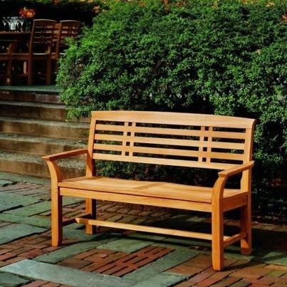 """Kingsley Bate Mandalay Teak 54"""" Bench  by Kingsley Bate"""