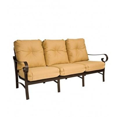 Woodard Belden Aluminum Sofa  by Woodard