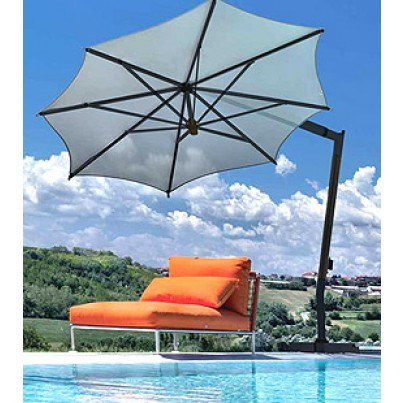 10.5' Hexagon Cantilever Umbrella  by FIM Umbrellas