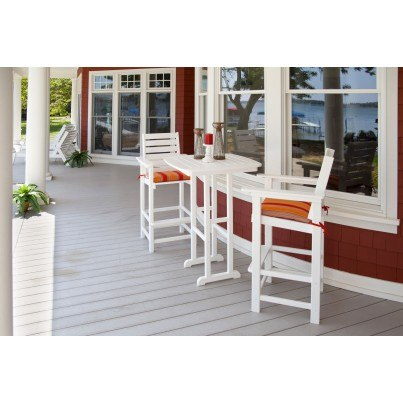POLYWOOD® Captain Bar Chair  by Polywood