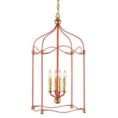 Currey & Company Carousel Iron Chandelier  by Currey & Company