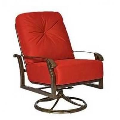 Woodard Cortland Aluminum Swivel Rocking Lounge Chair  by Woodard