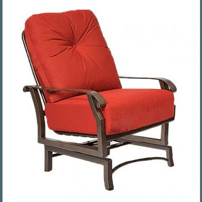Woodard Cortland Aluminum Spring Lounge Chair  by Woodard
