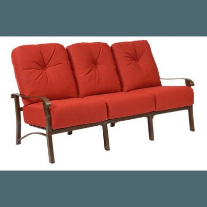 Woodard Cortland Aluminum Sofa  by Woodard