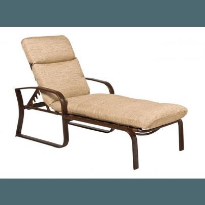 Woodard Cayman Isle Aluminum Adjustable Chaise Lounge  by Woodard