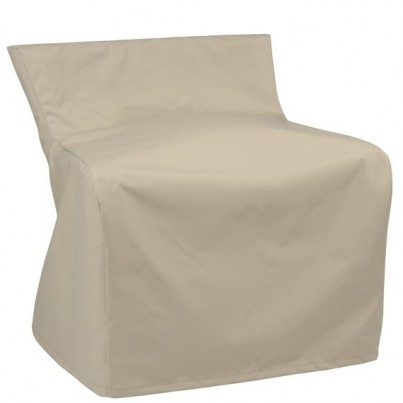 Kingsley Bate Azores Wicker Sectional Main Panel Corner Chair Cover - No Sides  by Kingsley Bate