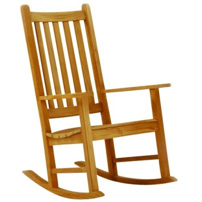 Kingsley Bate Charleston Teak Rocking Chair  by Kingsley Bate