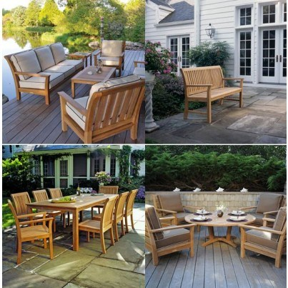 Kingsley Bate Chelsea Teak Seating and Dining Collection - Build Your Own Ensemble  by Kingsley Bate