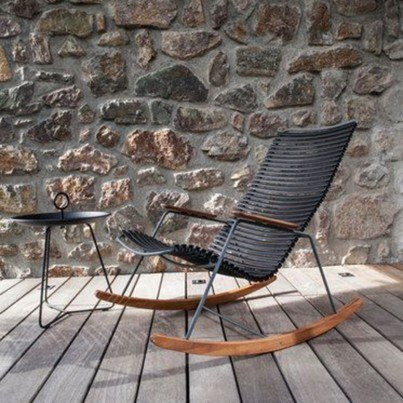 Click Rocking Chair Black