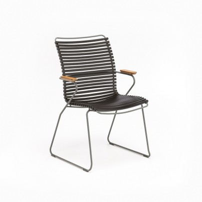 Click Tall Back Dining Chair Black