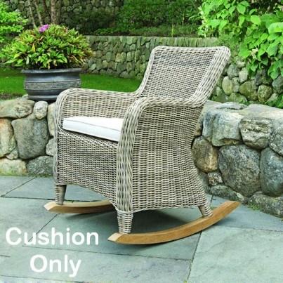 Kingsley Bate Sag Harbor Rocker Seat Cushion  by Kingsley Bate