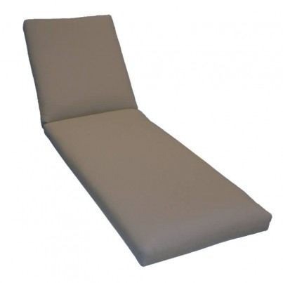 Kingsley Bate Classic Chaise Lounge Cushion - Montauk Denim - 1 OPEN BOX  by Kingsley Bate