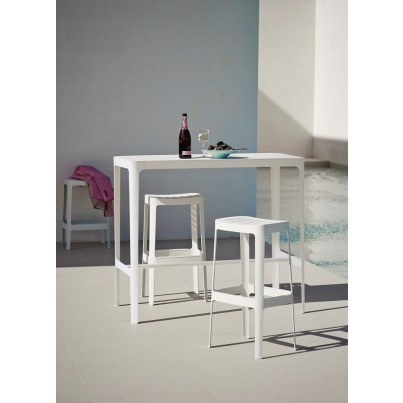 Cane-line Cut Bar Chair High  by Cane-line