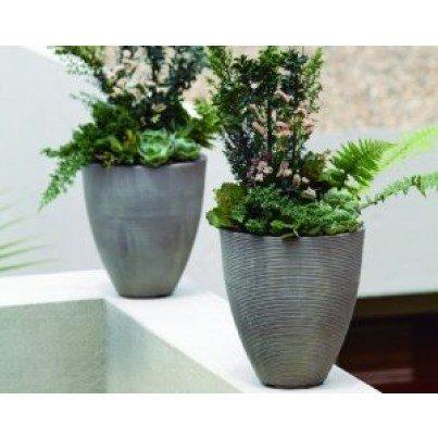 """Delano Tall Planter - 16""""  by Frontera Furniture Company"""