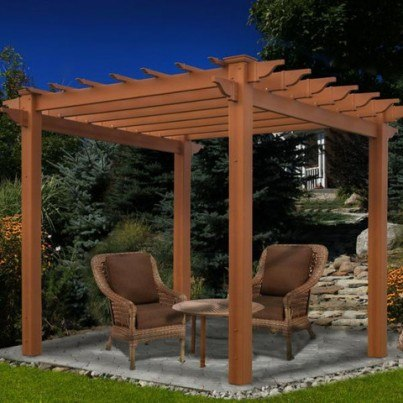 Lakewood 6.5' Composite Pergola  by Frontera Furniture Company