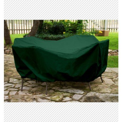 """Protective Weathermax™ 36"""" Round Table Dining Set Cover - Forest Green  by Koveroos"""