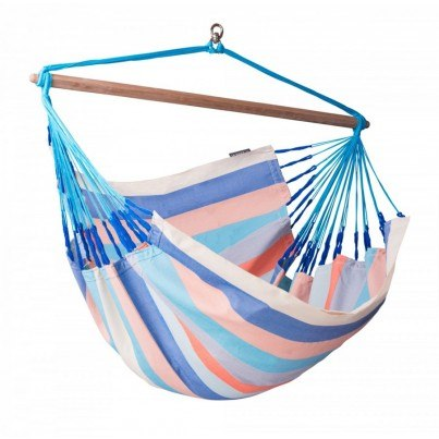 La Siesta Domingo Colombian Lounger Hammock Chair - Dolphin  by La Siesta
